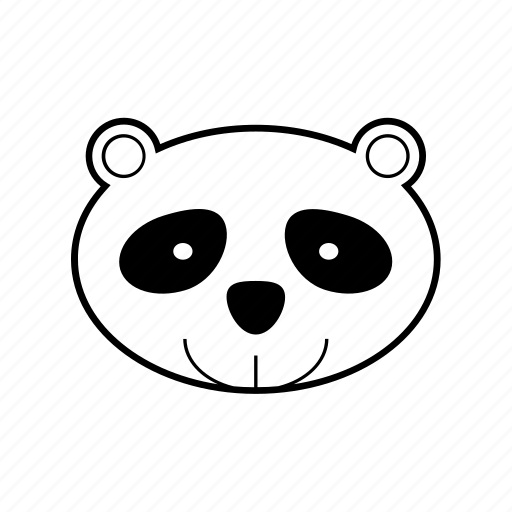 animal, bamboo, forest, panda, wild, zoo icon