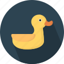 animal, duck icon