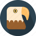animal, eagle, fly icon