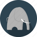 animal, elephant, jungle, safari, zoo icon