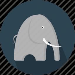animal, elephant, jungle, safari, zoo icon