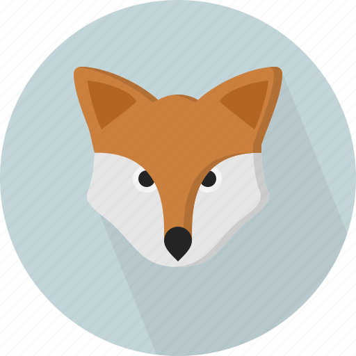 Animal, Fox, Jungle, Safari, Zoo Icon