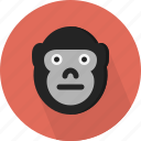 animal, gorilla, jungle, safari, zoo icon