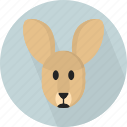 animal, jungle, kangoroo, zoo icon