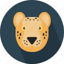 animal, leopard, safari, zoo icon
