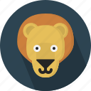 animal, jungle, king, lion, safari icon