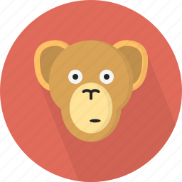 animal, jungle, monkey, zoo icon