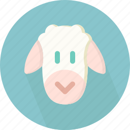 animal, sheep icon
