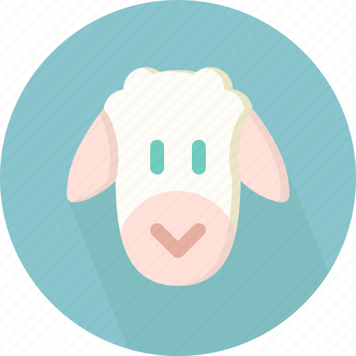 animal, sheep icon
