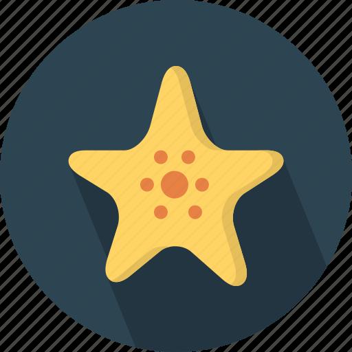animal, fish, safari, sea, star, zoo icon