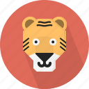 animal, jungle, tiger, zoo icon