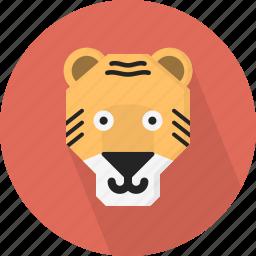 animal, jungle, tiger, zoo icon
