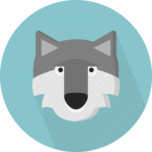 animal, fox, jungle, wolf, zoo icon