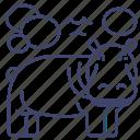 animal, hippo, hippopotamus, zoo icon