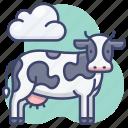 animal, cow, farm, milk icon