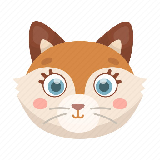 Animal, cute, fox, muzzle, toy, wild icon - Download on Iconfinder