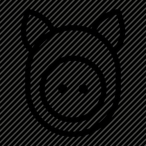 animal, cattle, ham, pig, pork icon