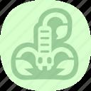 poison, poisonous, scorpio, zodiac icon