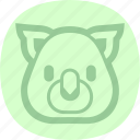agriculture, farm, farming, pig icon