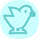 agriculture, bird plate, chicken, farm icon