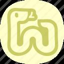 cobra, serpent, snake, venom icon