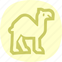 animal, camel, egypt, egyptian icon