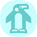 animal, arctic, penguin, penguins icon