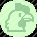 chicken, hen, rooster, turkey icon