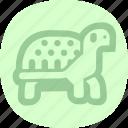 animal, animals, tortoise, turtle icon