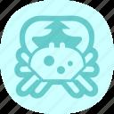cancer, crab, ocean, sea icon