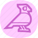 animal, bird, dove, pigeon icon