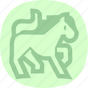 animal, horse, riding, wild icon