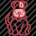 animal, dog, kingdom, life, wild, zoo icon