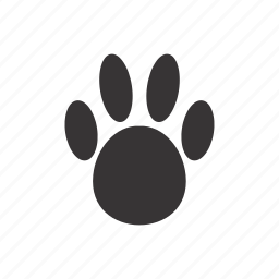 foots, front_paw, hare, paw icon