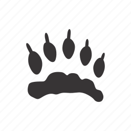 back_paw, foot, paw, wolverine icon
