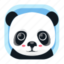 animal, asian, panda, wildlife, wwf, zoo icon