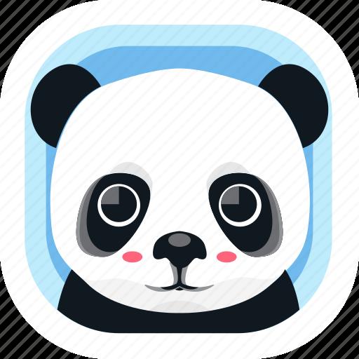 animal, asian, panda, wildlife, wwf, zoo icon