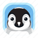 animal, arctic, bird, penguin, wildlife, zoo icon