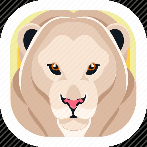 Animal, lion, wildlife, zoo icon - Download on Iconfinder