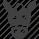 face, head, horse icon