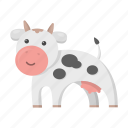 animal, cow, cute, toy icon