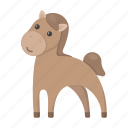 animal, cute, horse, toy icon