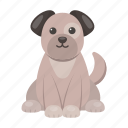 animal, cute, dog, puppy, toy icon
