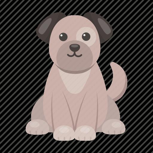 animal, cute, dog, puppy, toy icon