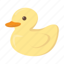 animal, cute, duck, duckling, toybird icon