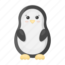 animal, bird, cute, penguin, toy