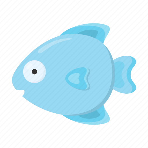 animal, cute, fish, toy icon