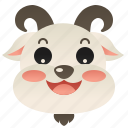 domestic, farm, goat, livestock, milk icon