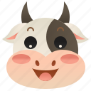 beef, bull, cattle, cow, ox icon