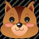 animal, chipmunk, park, rodent, squirrel icon